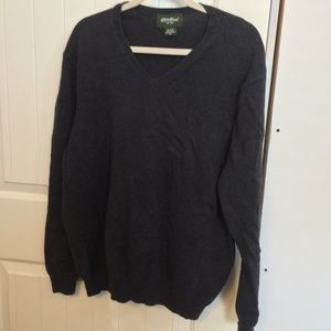 Gray Eddie Bauer sweater